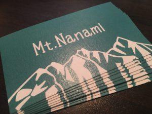 Mt.Nanami 名刺