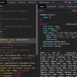Web デベロッパーみんな大好き Chrome デベロッパーツールに Custom Theme を適用する方法。